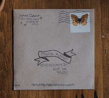 Felt App: Handwritten cards for military care packages